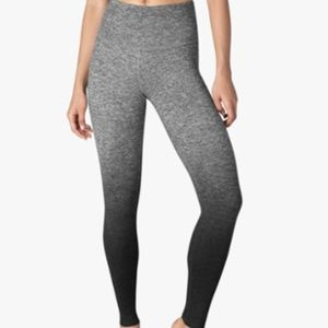 Beyond Yoga Ombre Grey High Waist Long Leggings